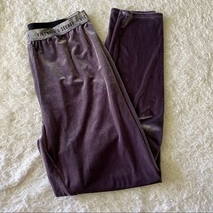 Velour Victoria's Secret Pants